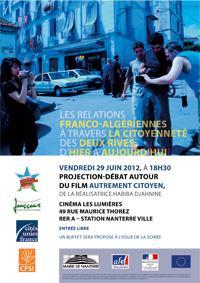 Les relations franco-algériennes à travers la citoyenneté des deux rives