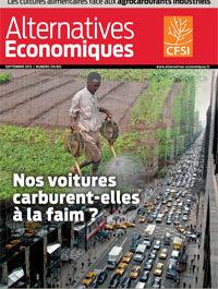 """Alternatives économiques : """"Nos voitures carburent-elles à la faim ?"""""""