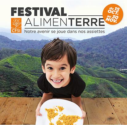 15 octobre - 30 novembre : 11ème édition du Festival ALIMENTERRE
