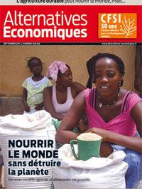 """Alternatives économiques : """"Nourrir le monde sans détruire la planète"""""""