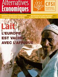 """Alternatives Economiques """"Lait : l'Europe est vache avec l'Afrique"""""""