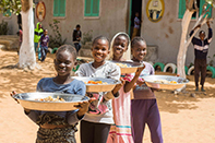 Les cantines scolaires de la région de Dakar