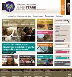 Le centre de ressources www.alimenterre.org fête son premier anniversaire !