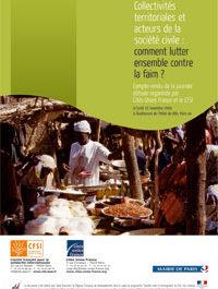 Collectivités territoriales et acteurs de la société civile : comment lutter ensemble contre la faim ?