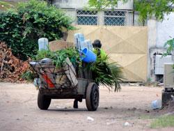 Au Congo Brazzaville : collecter les ordures ménagères pour prévenir les maladies