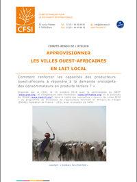 Approvisionner les villes ouest-africaines en lait local