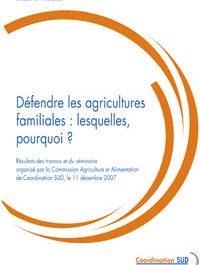 Défendre les agricultures familiales : lesquelles