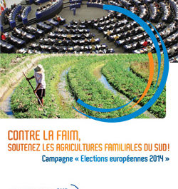 Candidats aux élections européennes : soutenez les agricultures familiales du Sud !