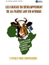 9 fiches pour comprendre les enjeux du développement de la filière lait en Afrique