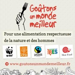 """Le CFSI est partenaire de la campagne """"Goûtons un monde meilleur"""" !"""