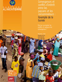 Convergences et conflits d'intérêt entre les paysans et les consommateurs : l'exemple de la Guinée
