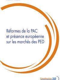 Réformes de la PAC et présence européenne sur les marchés des Pays en développement