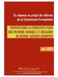 Pour une réforme du régime sucrier européen