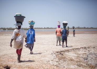 Au Sénégal, tous mobilisés pour soutenir les productrices de sel de Palmarin