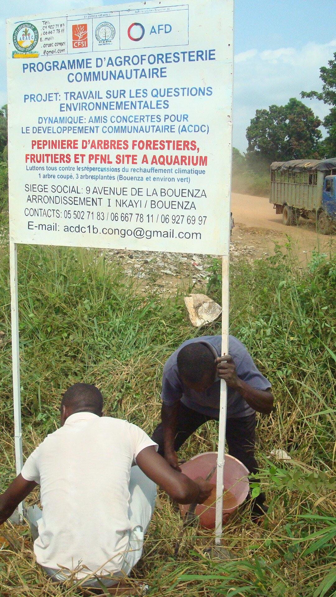 projet ARAEC à Nkayi 2021, pcpacongo