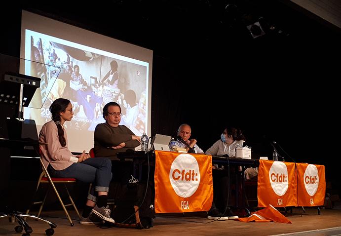 intervention-cfsi-semaine de rencontres des syndicalistes-CFDT-2021
